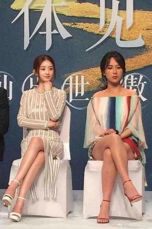 VZN News: Ảnh chụp không photoshop của Triệu Lệ Dĩnh - Dương Tử gây tranh cãi: Nhan sắc Đồng Niên kém cạnh hơn hẳn đàn chị - Ảnh 1.