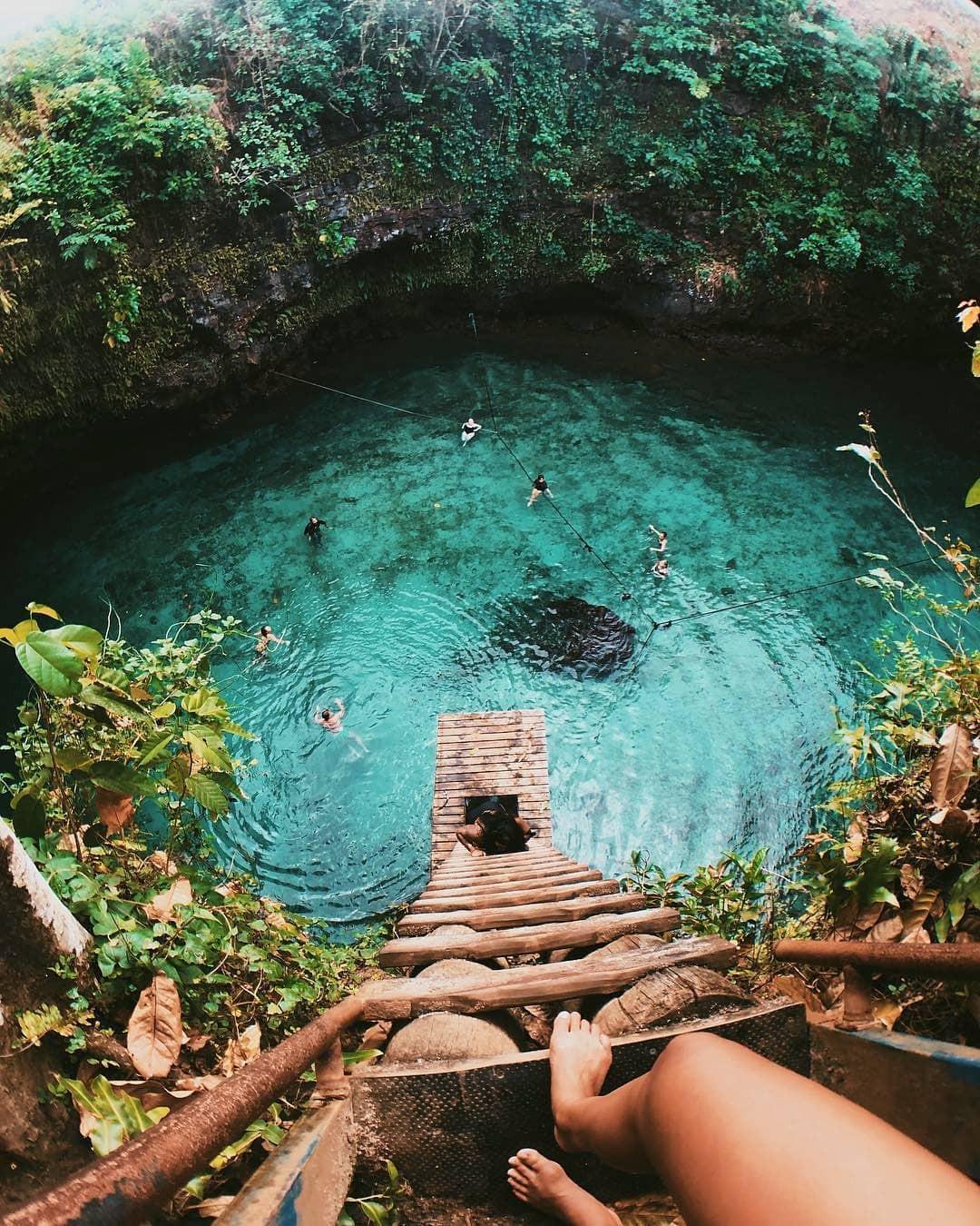 VZN News: Hồ bơi tự nhiên đẹp nhất thế giới nằm ở quốc gia ít người biết nhưng ai đã đến một lần thì đảm bảo mê cả đời! - Ảnh 9.