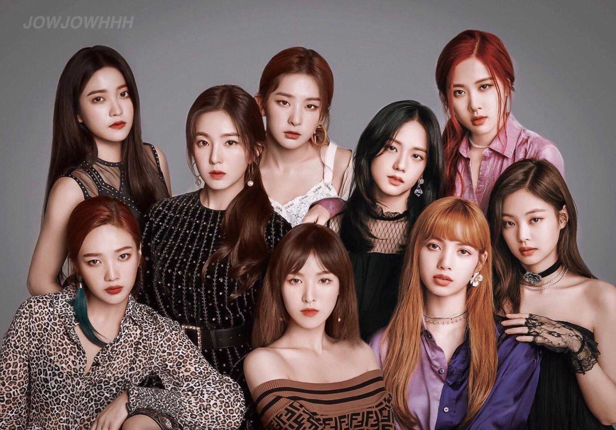 VZN News: Nếu BLACKPINK và Red Velvet hợp thành một nhóm, đây xứng đáng là nhóm nhạc kế nhiệm SNSD, cân tất mọi đối thủ? - Ảnh 1.