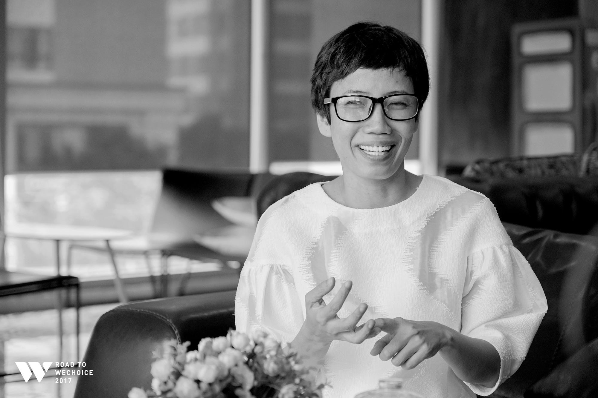 Nhà báo Trần Mai Anh.