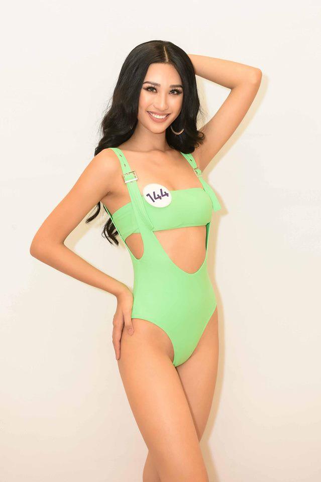 Dàn thí sinh Hoa hậu Hoàn vũ Việt Nam 2019 lột xác thế nào so với thời thi show thực tế? - Ảnh 8.