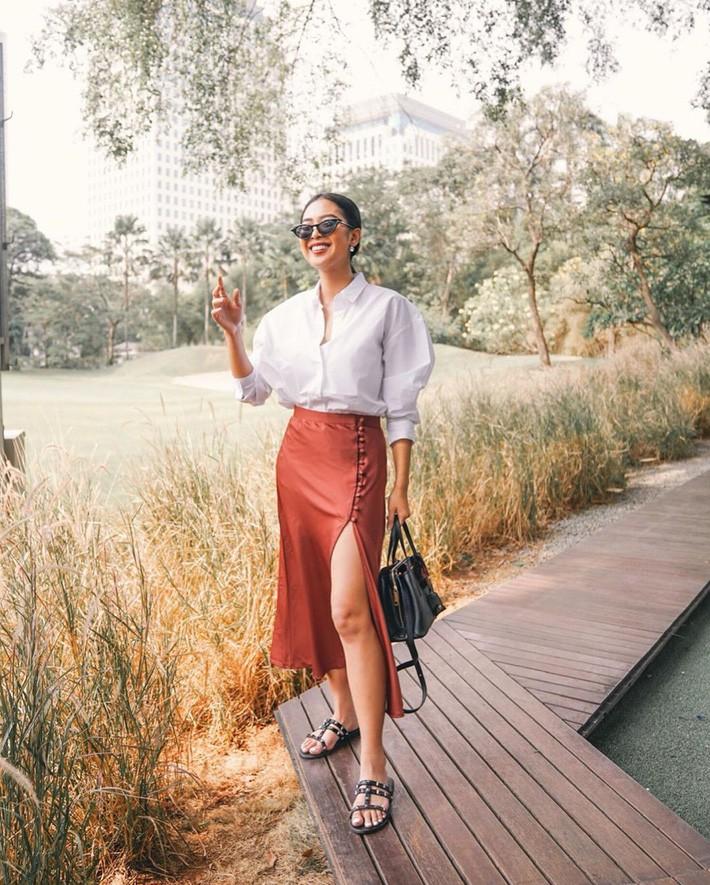 VZN News: Street style châu Á: Đơn giản mà vẫn cuốn hút, nàng công sở học ngay để lên đồ cho cả tuần mặc đẹp - Ảnh 10.