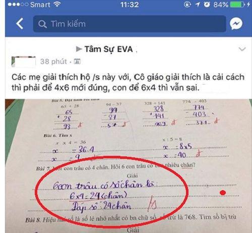 VZN News: Bất ngờ vì thầy giáo gạch kết quả đúng của học sinh, cha mẹ đồng loạt phản ứng thầy nên học lại bài - Ảnh 4.