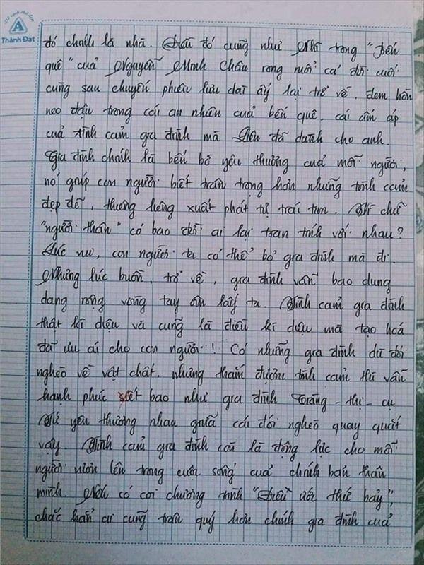 VZN News: Nam sinh gây sốt với bài văn dài 18 trang, cô giáo đọc xong không biết phải phê gì vì quá xuất sắc! - Ảnh 16.