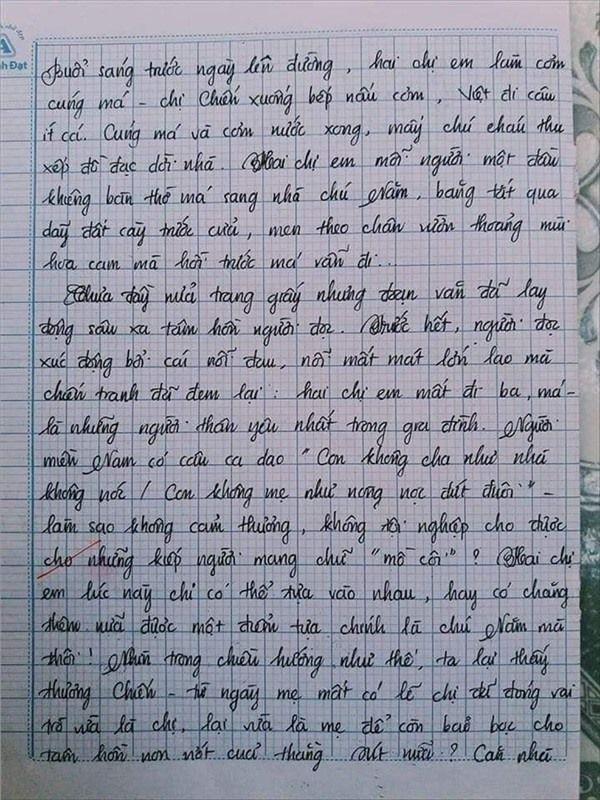 VZN News: Nam sinh gây sốt với bài văn dài 18 trang, cô giáo đọc xong không biết phải phê gì vì quá xuất sắc! - Ảnh 5.