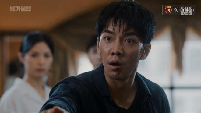 Dọa cho nổ tung đầu Suzy, Lee Seung Gi được chị đẹp cho ăn cú tát lật mặt ngay tập 2 Vagabond - Ảnh 2.