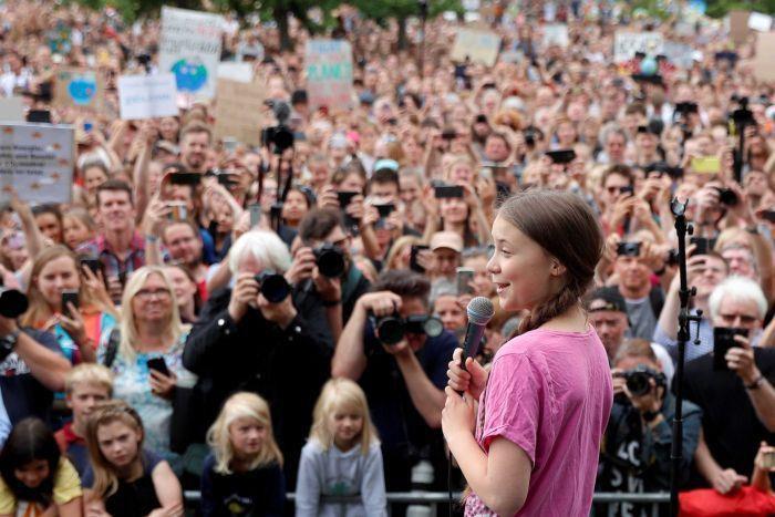 Trước khi mắng thẳng vào mặt các nguyên thủ quốc gia, Greta Thunberg từng có phim ngắn ấn tượng về môi trường - Ảnh 7.