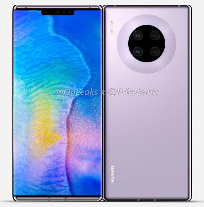 VZN News: Huawei Mate 30 Pro lộ hình ảnh thiết kế và cấu hình khủng, nhưng ai dám mua thì chưa biết - Ảnh 1.