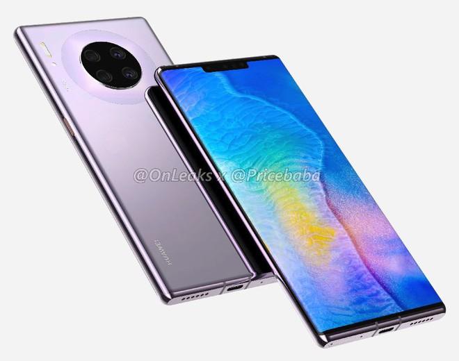 VZN News: Huawei Mate 30 Pro lộ hình ảnh thiết kế và cấu hình khủng, nhưng ai dám mua thì chưa biết - Ảnh 2.