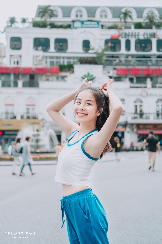 VZN News: Bộ ảnh xinh tươi đầy sức sống của hotgirl Trường Cao đẳng Nghệ thuật Hà Nội khiến ai nhìn vào cũng thấy yêu đời - Ảnh 4.