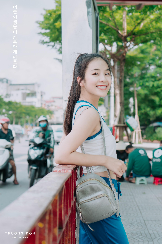 VZN News: Bộ ảnh xinh tươi đầy sức sống của hotgirl Trường Cao đẳng Nghệ thuật Hà Nội khiến ai nhìn vào cũng thấy yêu đời - Ảnh 7.