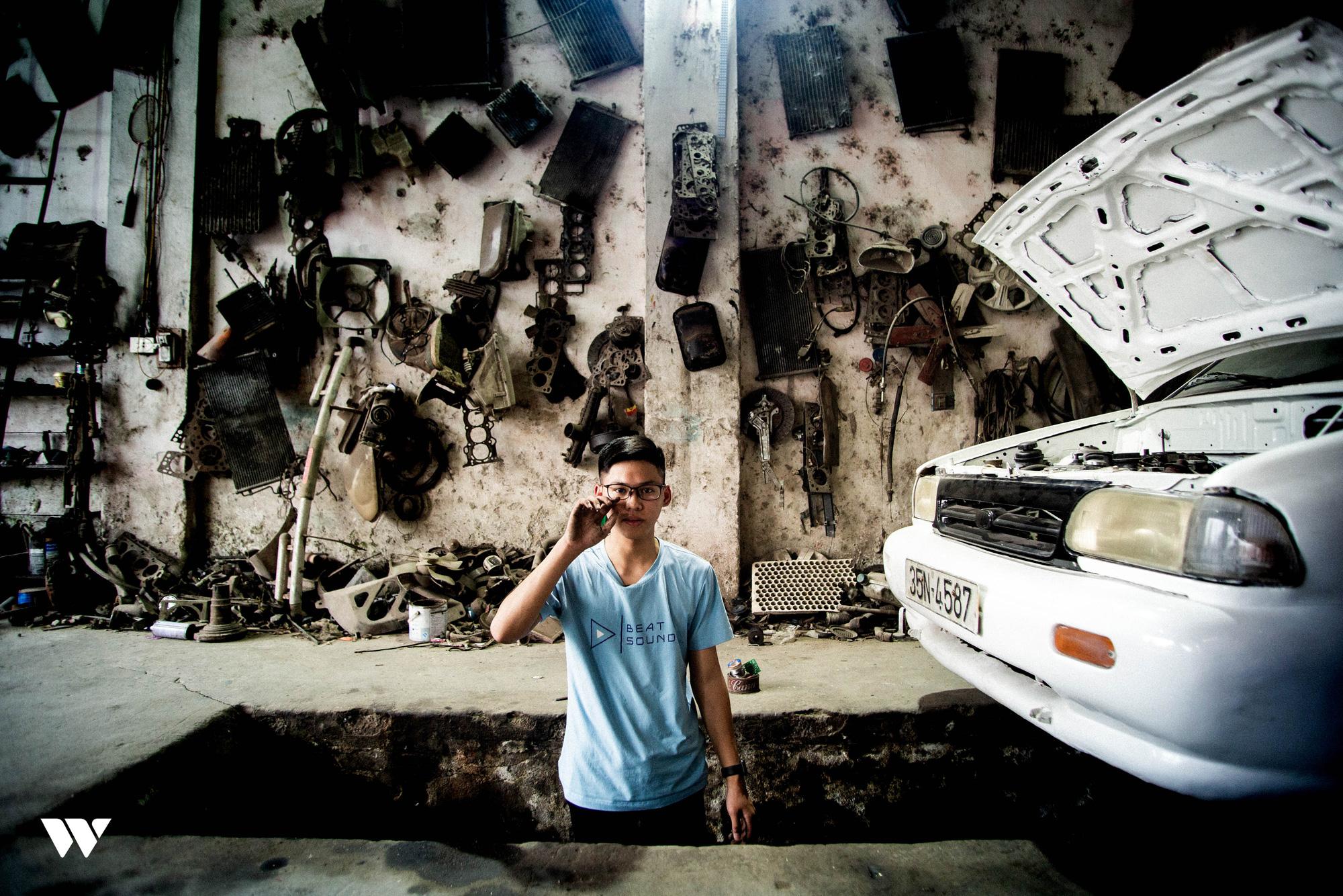 Ngô Việt Cường - Cậu học sinh lớp 12 trong vòng 2 năm lắp ráp thành công 2 ô tô chạy bằng năng lượng mặt trời - Ảnh 15.