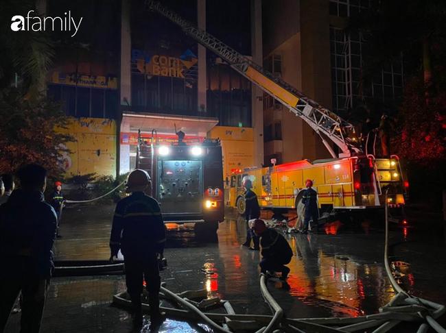 Danh tính 2 cô gái trẻ tử vong thương tâm trong vụ cháy tòa nhà ngân hàng dầu khí ở Thanh Hóa - Ảnh 1.