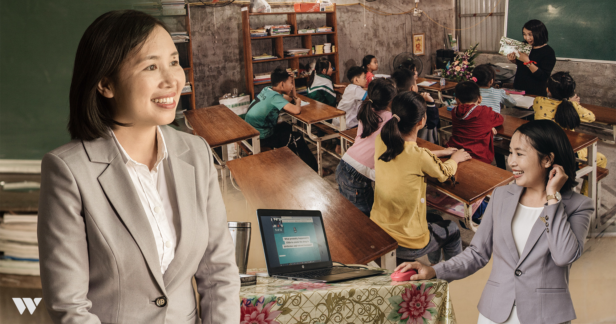 """Từ chối công việc tại Tập đoàn Microsoft Canada, """"cô giáo Skype"""" trở về trường làng dạy học: """"Cô hạnh phúc thì trò mới hạnh phúc!"""" - Ảnh 6."""