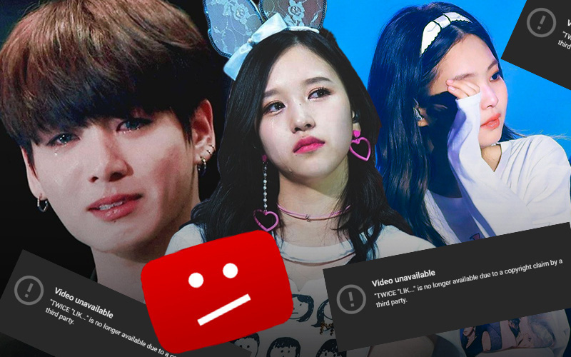"""Chuyện như đùa: Loạt MV trăm triệu view của BTS, BLACKPINK và TWICE từng """"bay màu"""" khỏi Youtube chỉ vì chung một lý do ngớ ngẩn không tin nổi!"""