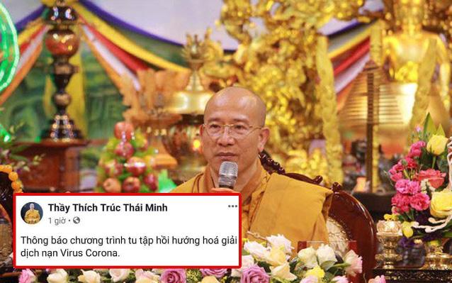 """Trụ trì chùa Ba Vàng tổ chức """"hóa giải"""" virus corona đã bị xử lý"""