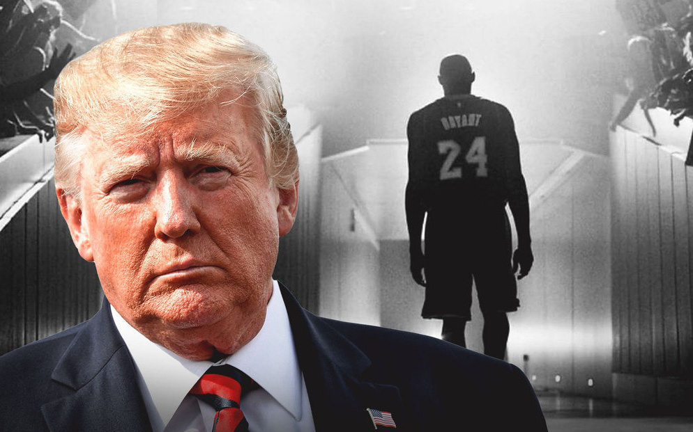 """Viết lời tưởng nhớ Kobe Bryant lên mạng xã hội, Tổng thống Donald Trump bị nghi """"đạo nhái"""" status của Obama"""
