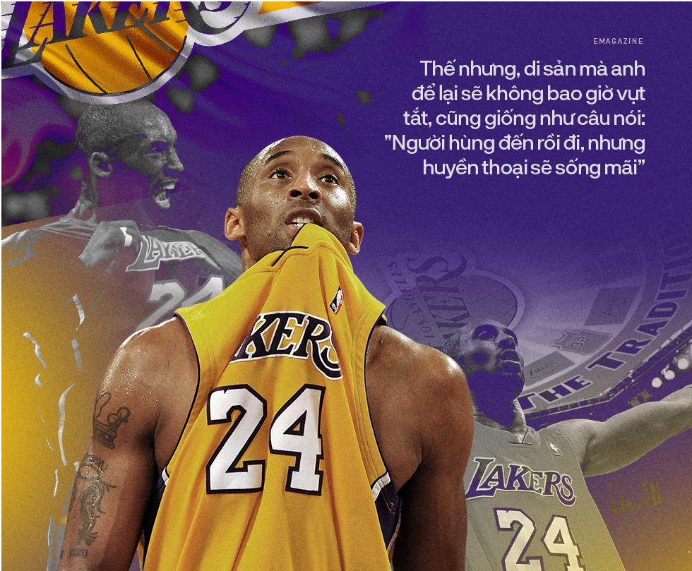 Kobe Bryant: Người hùng sẽ đến rồi đi, nhưng huyền thoại sẽ sống mãi - Ảnh 2.