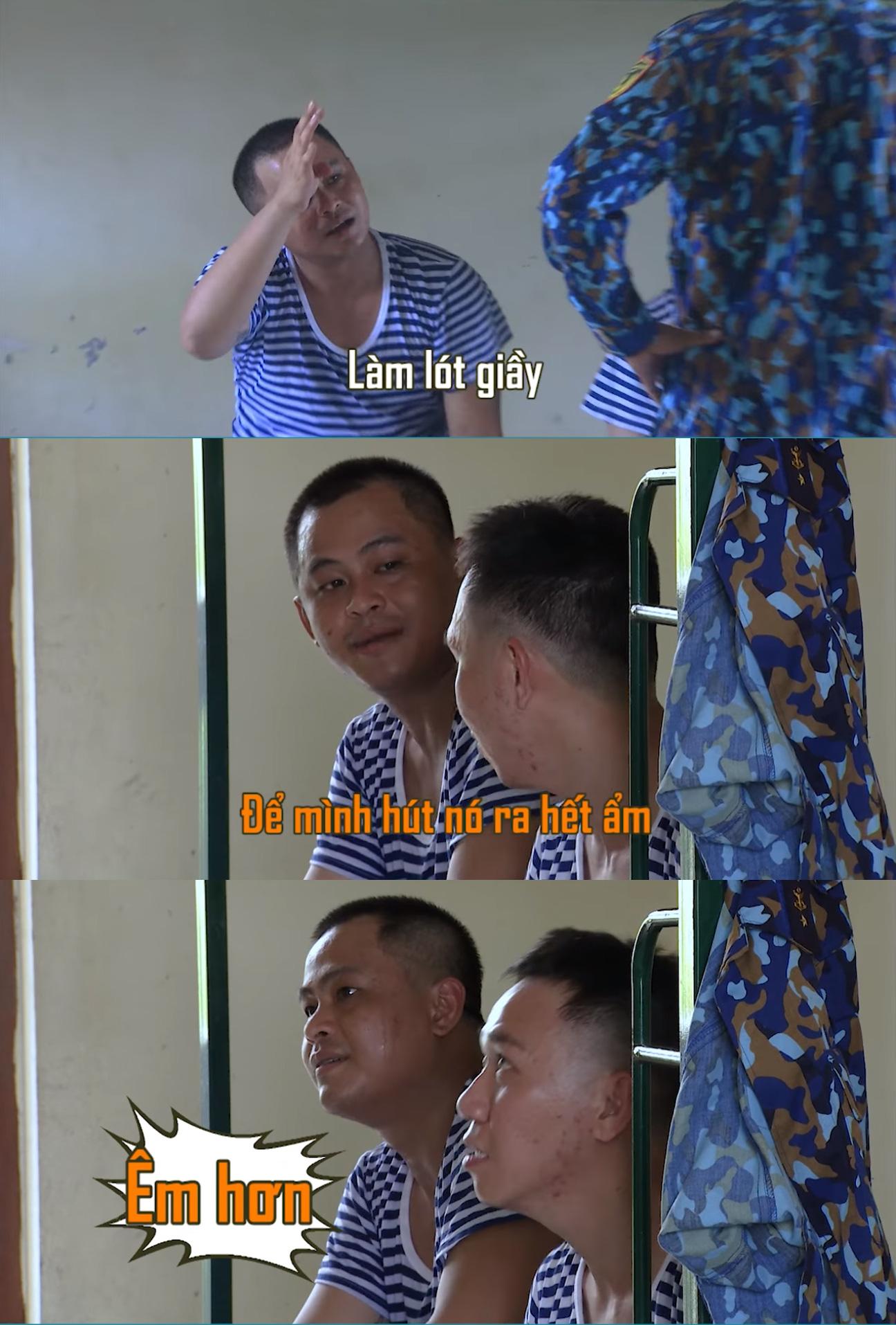 Sao nhập ngũ: Jun Phạm khiến khán giả chết cười vì khen băng vệ sinh thơm, siêu thấm siêu hút - Ảnh 7.