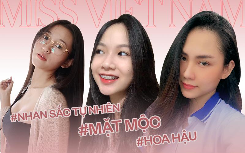 Góc siêu soi nhan sắc mộc của dàn thí sinh lọt top 60 tại Hoa hậu Việt Nam 2020: Đã xuất hiện nữ thần mặt mộc mới!
