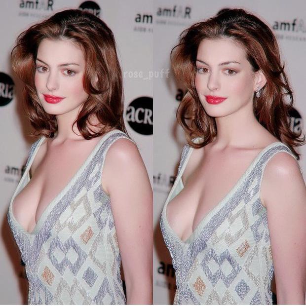 Lộ ảnh nữ thần Anne Hathaway đẹp xuất sắc thuở chưa bung xõa, ai dè... bị Angelina Jolie đè bẹp trong 1 khung hình - ảnh 2