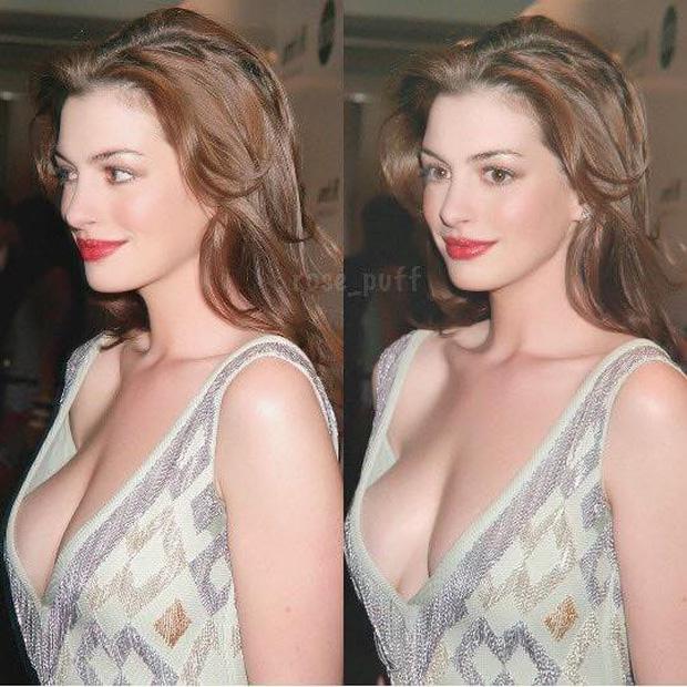 Lộ ảnh nữ thần Anne Hathaway đẹp xuất sắc thuở chưa bung xõa, ai dè... bị Angelina Jolie đè bẹp trong 1 khung hình - ảnh 3