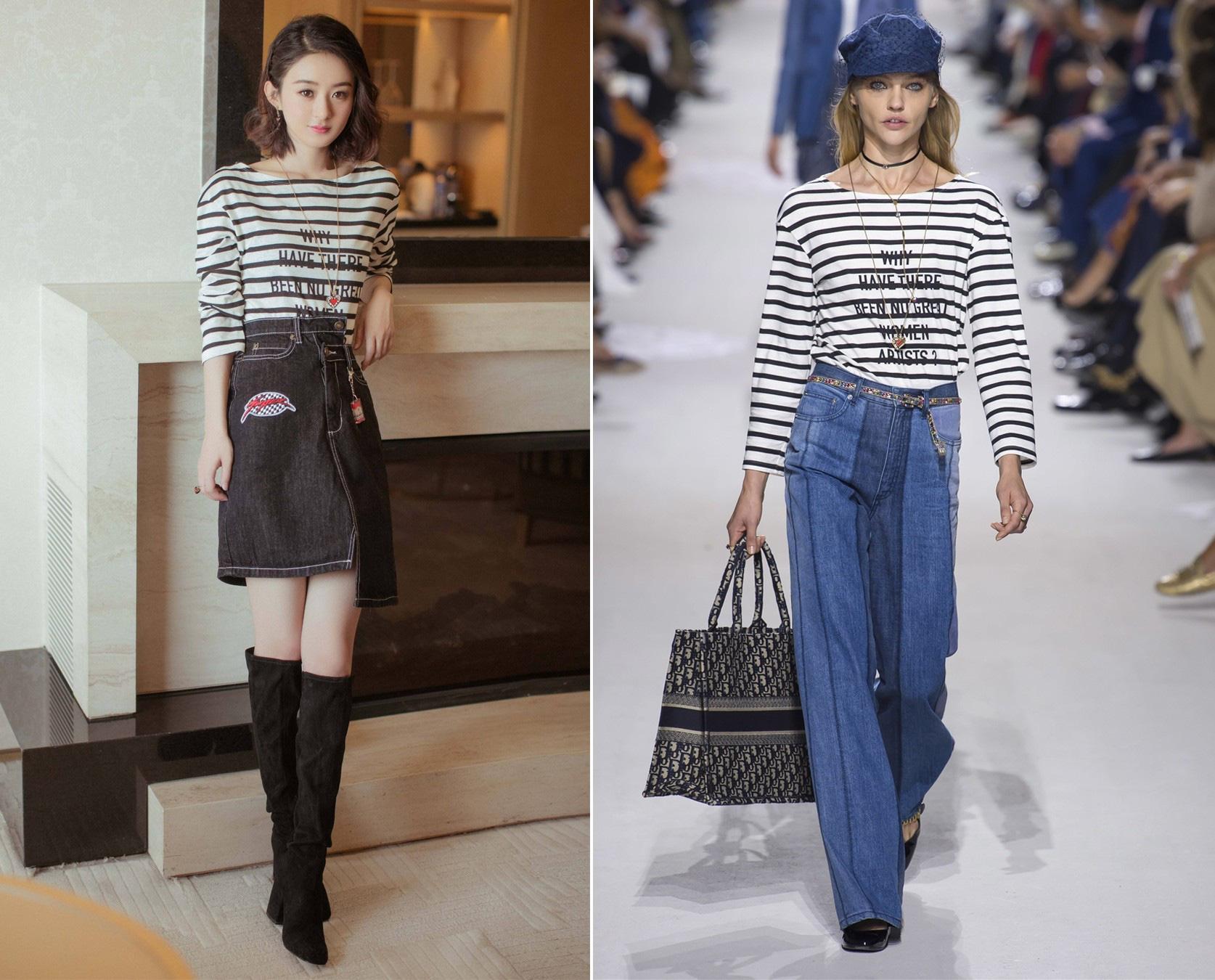 Showbiz Hoa Hàn có những sao nữ mặc đồ xịn mà như đồ chợ, thích phá hàng hiệu hơn cả phá kỷ lục Guinness - Ảnh 1.
