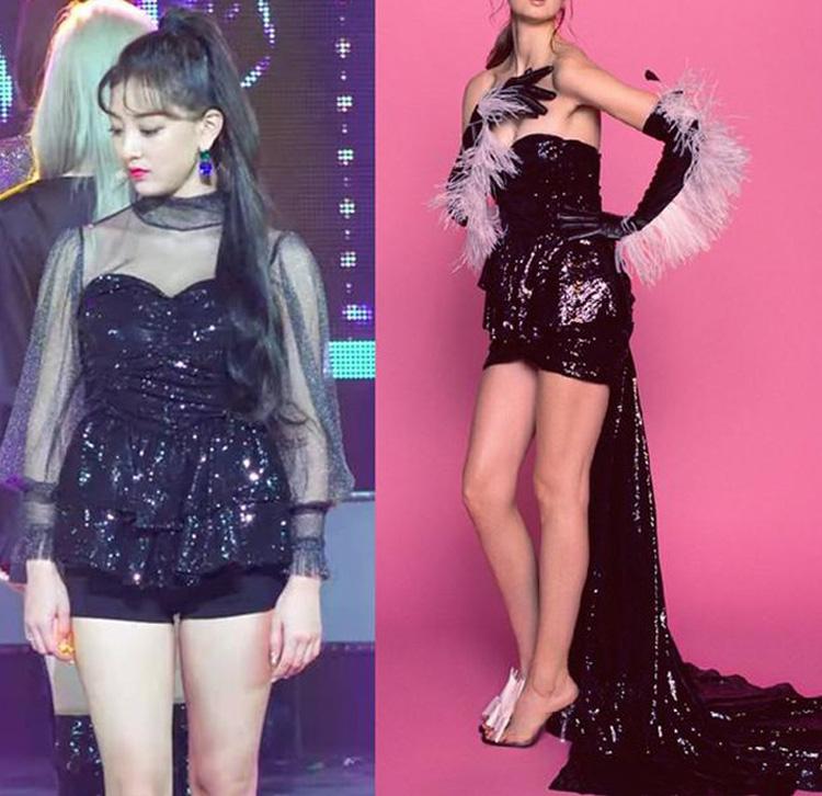 Showbiz Hoa Hàn có những sao nữ mặc đồ xịn mà như đồ chợ, thích phá hàng hiệu hơn cả phá kỷ lục Guinness - Ảnh 15.