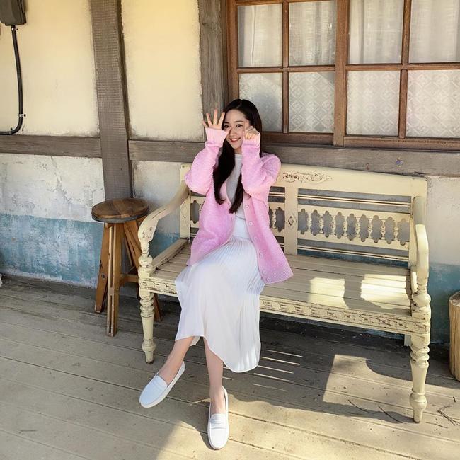 Học Park Min Young 3 set đồ chuẩn đẹp mùa Thu cực dễ mua dễ mặc - Ảnh 4.