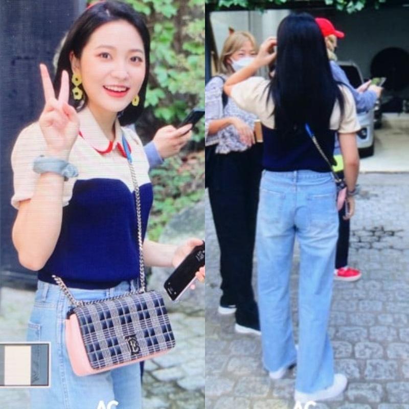 Style khi đi ghi hình của loạt idol Kpop: Người mặc đơn giản vẫn hút, người như trình diễn thời trang - Ảnh 5.