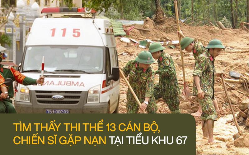 Hành trình tìm kiếm 13 cán bộ, chiến sĩ hy sinh tại Tiểu khu 67