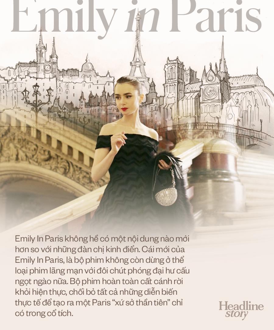 Giữa hiện thực đầy khắc nghiệt và đen tối, Emily In Paris là câu chuyện cổ tích hoang đường mà khán giả toàn cầu cần được đắm chìm? - Ảnh 2.