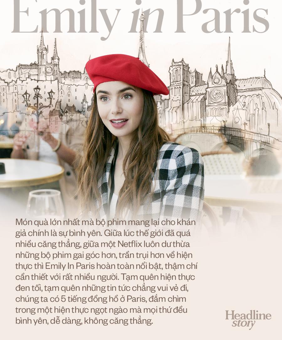 Giữa hiện thực đầy khắc nghiệt và đen tối, Emily In Paris là câu chuyện cổ tích hoang đường mà khán giả toàn cầu cần được đắm chìm? - Ảnh 10.