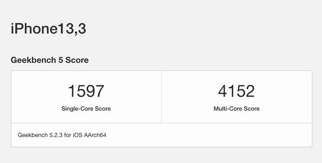 iPhone 12 Pro đã có điểm hiệu năng, mạnh hơn iPhone 11 Pro 20% - ảnh 2