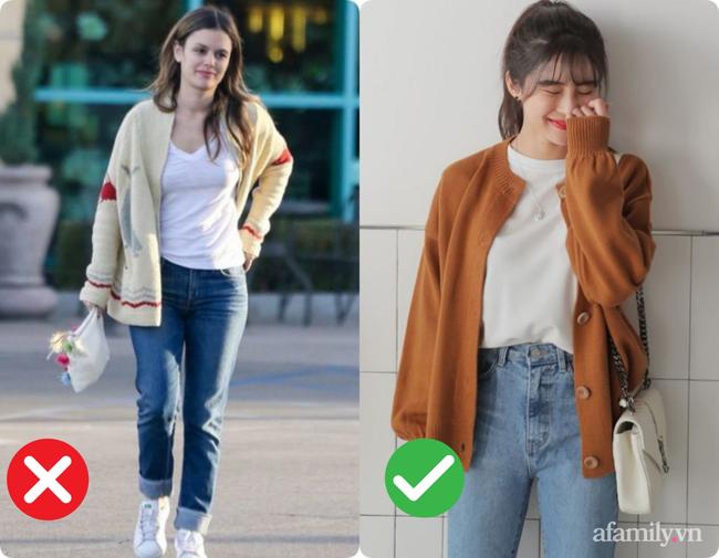 3 kiểu diện cardigan biến bạn thành thảm họa thời trang, kém sang không cứu nổi - Ảnh 2.