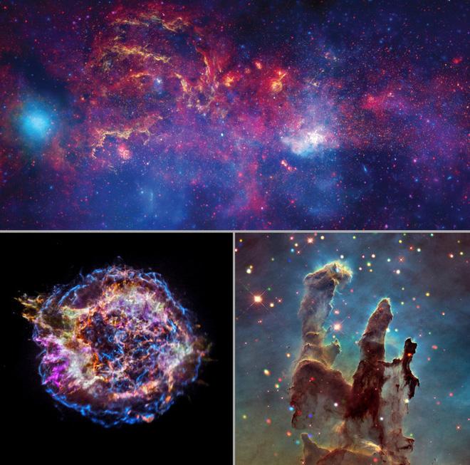 Cùng nghe thứ âm thanh tuyệt diệu của vũ trụ, được tạo ra từ loạt ảnh chụp Dải Ngân hà của NASA - ảnh 2