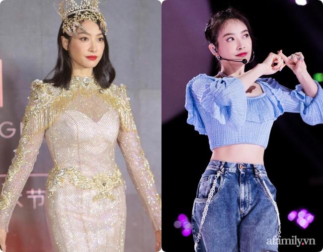 Không chỉ Nữ thần Kim Ưng Tống Thiến, nhiều sao Việt cũng bị lộ bụng vì váy đuôi cá - Ảnh 3.