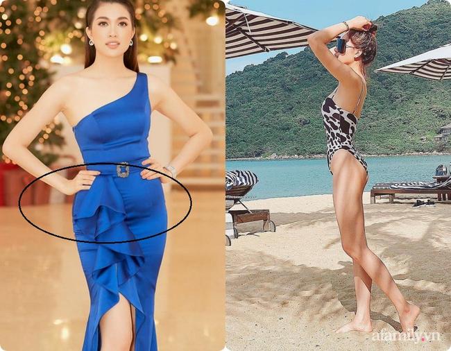 Không chỉ Nữ thần Kim Ưng Tống Thiến, nhiều sao Việt cũng bị lộ bụng vì váy đuôi cá - Ảnh 5.