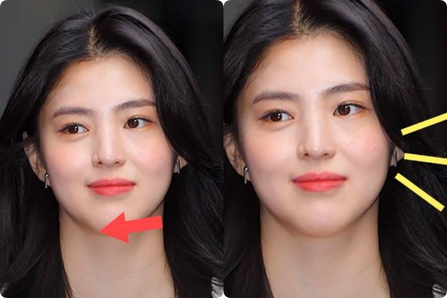Soi nhược điểm mặt lệch, mũi ngắn của tiểu tam hot nhất xứ Hàn: Lý do cô luôn để một kiểu tóc nhất định là đây - Ảnh 6.