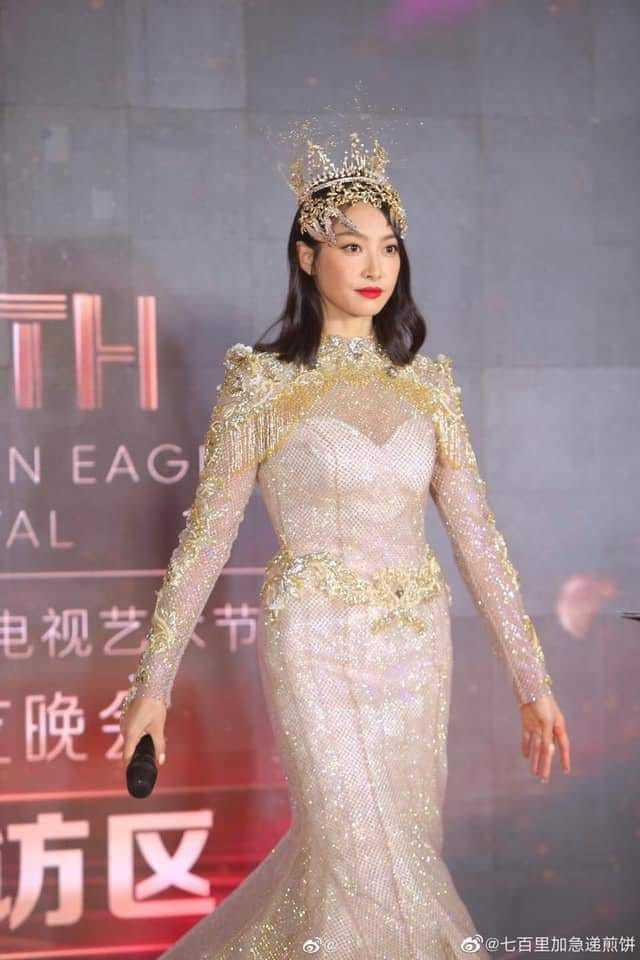 Từ visual tới khí chất đều xẹp lép so với 7 mỹ nhân tiền nhiệm, Tống Thiến chính là Nữ thần Kim Ưng bay màu nhanh nhất - ảnh 2