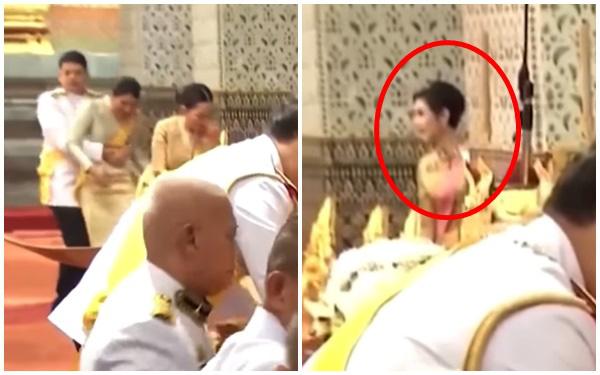 Hoàng tử Thái Lan gây chú ý khi nhấc bổng chị gái trong lễ tưởng niệm cố vương, đặc biệt là thái độ của Hoàng quý phi khi chứng kiến sự việc - ảnh 1
