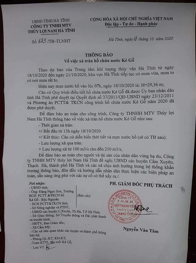 Hà Tĩnh đề nghị rà soát khẩn nơi đóng quân của lực lượng vũ trang, sơ tán dân vùng nguy hiểm - Ảnh 4.