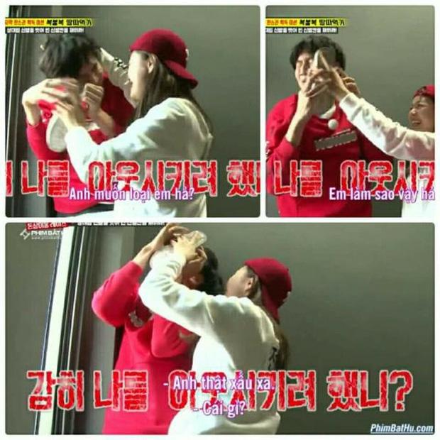 Những lần Jeon So Min chiếm sóng, bạo lực với loạt khách mời: Từ nắm tóc nữ idol kéo lê xềnh xệch đến đạp mạnh BLACKPINK - ảnh 9