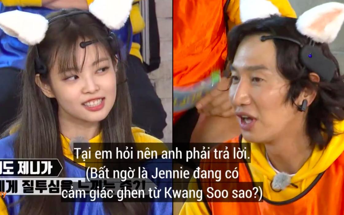 Phản ứng giận dỗi của Jennie (BLACKPINK) khi Lee Kwang Soo chọn người xinh nhất BLACKPINK khiến fan thích thú