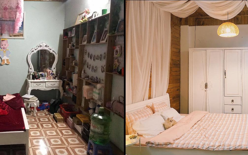 Phòng ngủ bừa bộn lột xác thành không gian cực chill: Màn cải tạo ngoạn mục với số tiền siêu rẻ khiến ai nấy mê tít