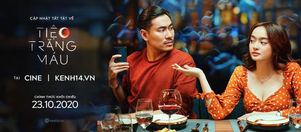 Kaity Nguyễn diện cây đen nền nã, dính như sam với tình màn ảnh Kiều Minh Tuấn ở thảm đỏ Tiệc Trăng Máu - ảnh 14