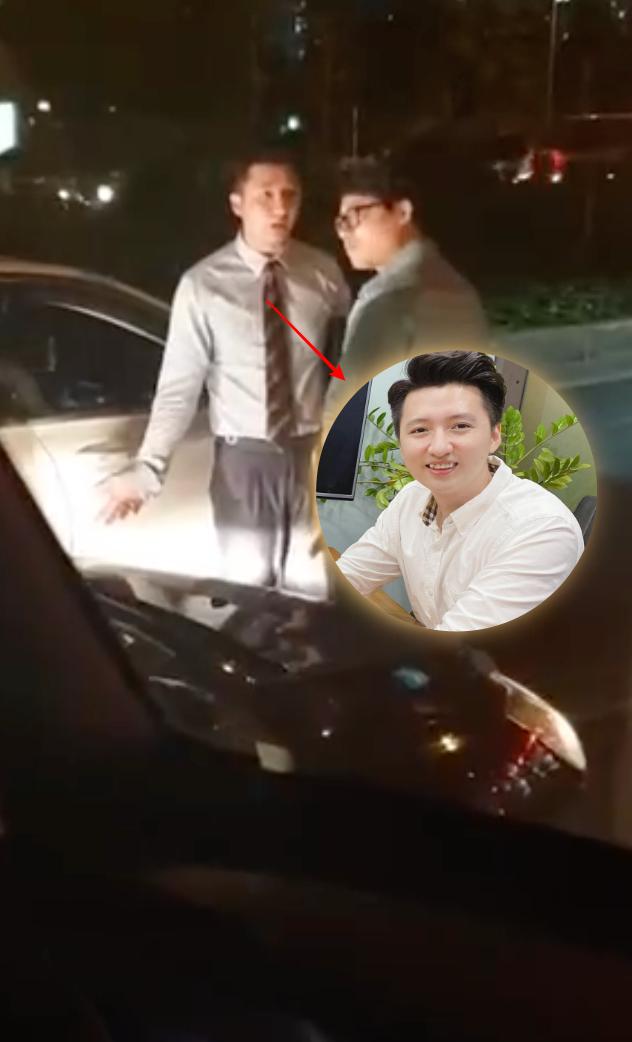 Xôn xao clip Trọng Hưng bị va chạm ngoài đường, trên xe chở một cô gái - ảnh 3