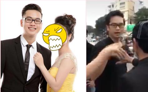 """Bị vợ đánh ghen, tố ngoại tình vì clip hôn tay gái lạ - quản lý Hoài Lâm giải thích: """"Tôi nhớ là có thể đang ngửi một cái gì đấy"""""""