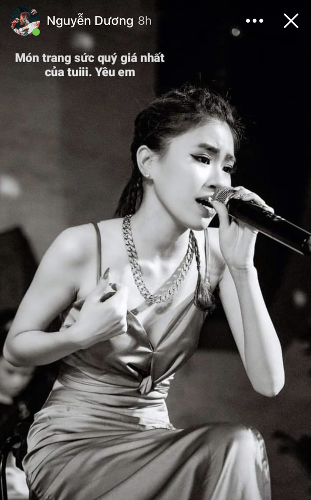 Nửa đêm, bạn gái Tez chính thức lên tiếng trước drama rapper đăng ảnh Pháo và nói yêu em - ảnh 1