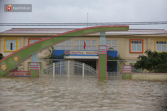 Hơn 2 tuần chịu trận lũ lịch sử, người dân Quảng Bình vẫn phải leo nóc nhà, bơi giữa dòng nước lũ cầu cứu đồ ăn - ảnh 1